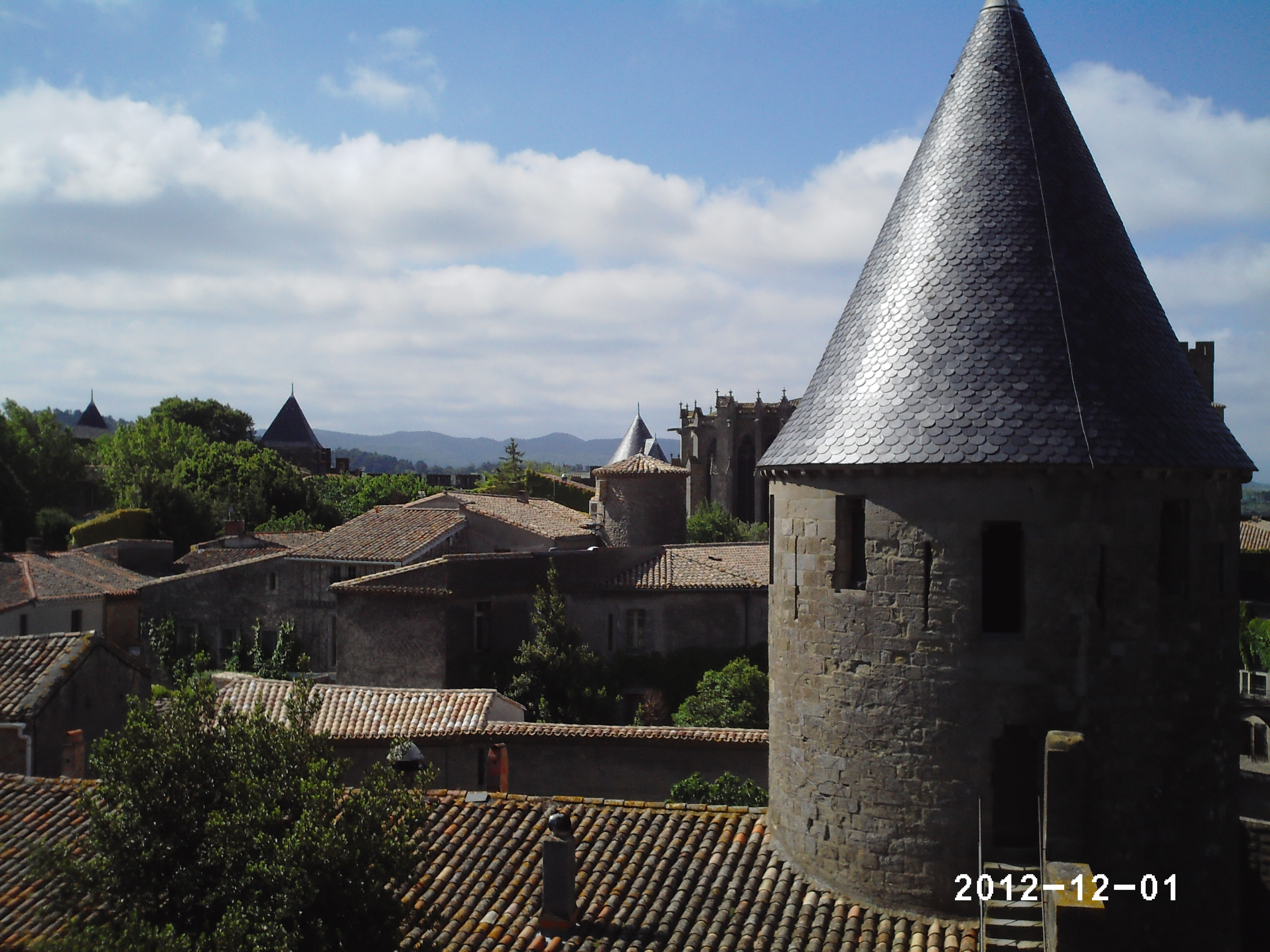 Vue depuis le château