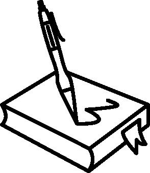 icone écriture